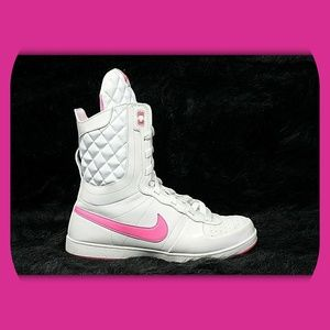 Nike Shoes - NIKE High Top Leather Fashion Sneakers